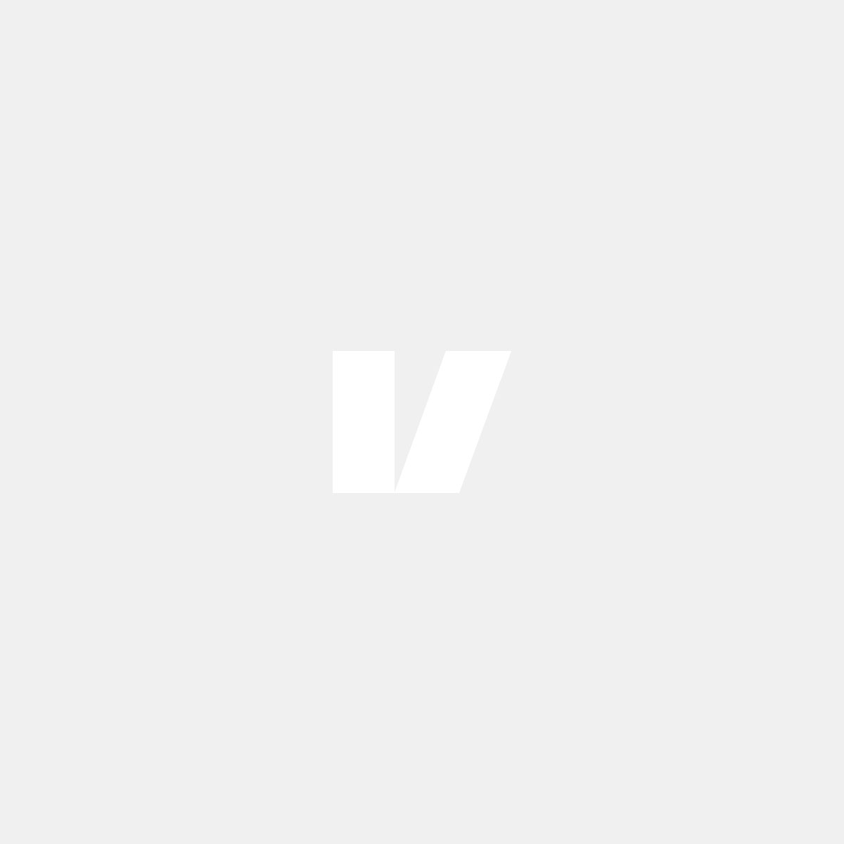 Kromat dimljusgaller till Volvo V70 08-13, förarsidan